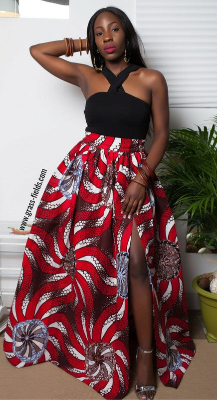 4e89d87c9c 9 Ways to Wear African Wax Print Fabric: The African Print Maxi ...