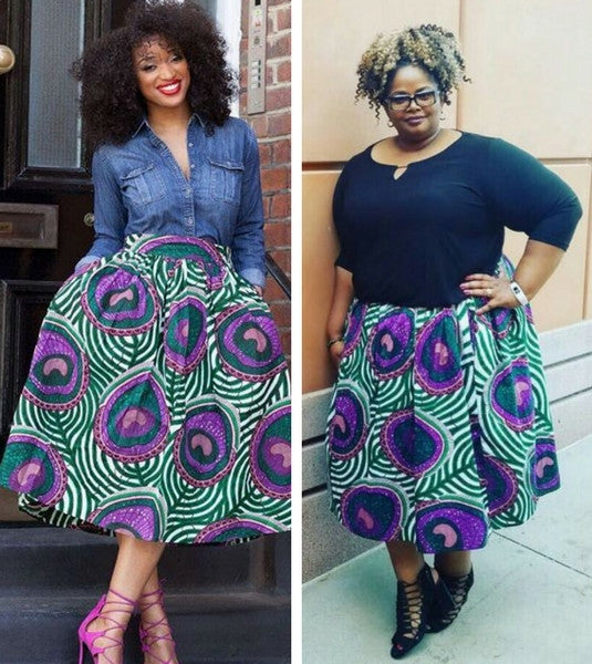 40 Ways To Wear African Print Slay In A Skirt Grassfields Best African Dress Patterns