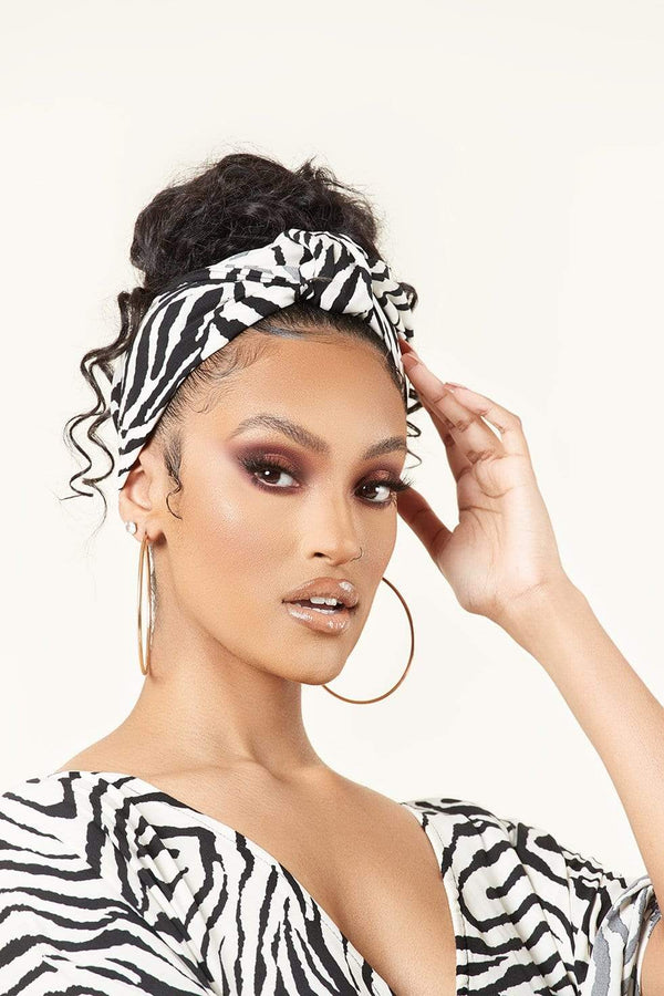 Grass-fields headwrap African Print Karissa Headwrap