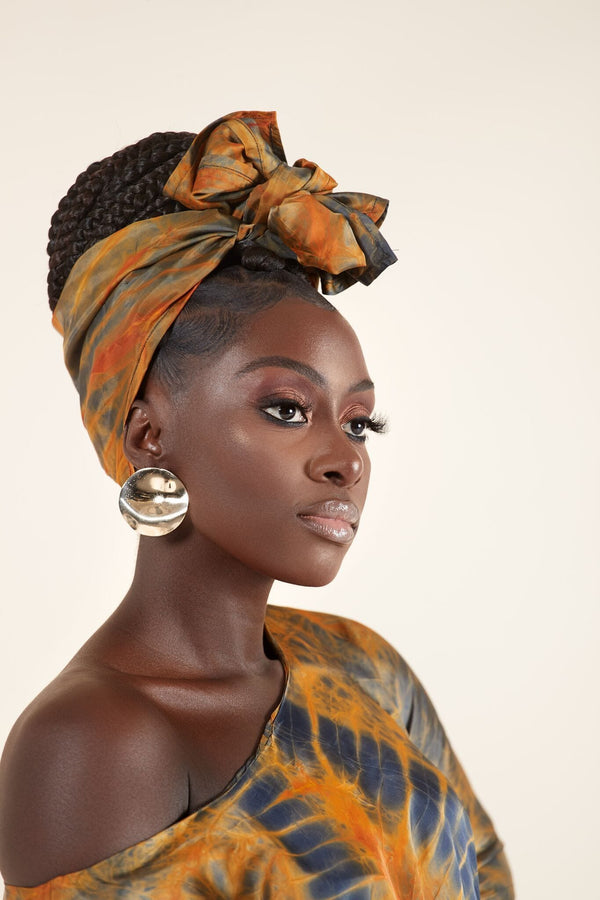 Grass-Fields headwrap Jabari Headwrap