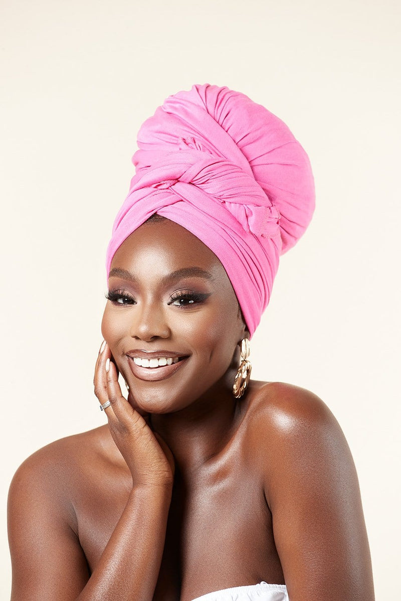 Grass-Fields headwrap Pink Headwrap