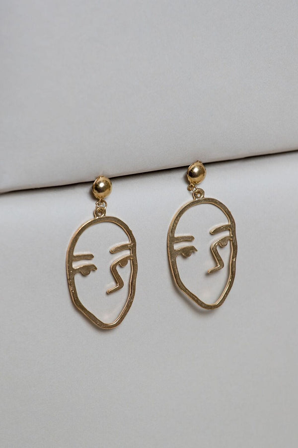 Grass-Fields headwrap Vullo Earring