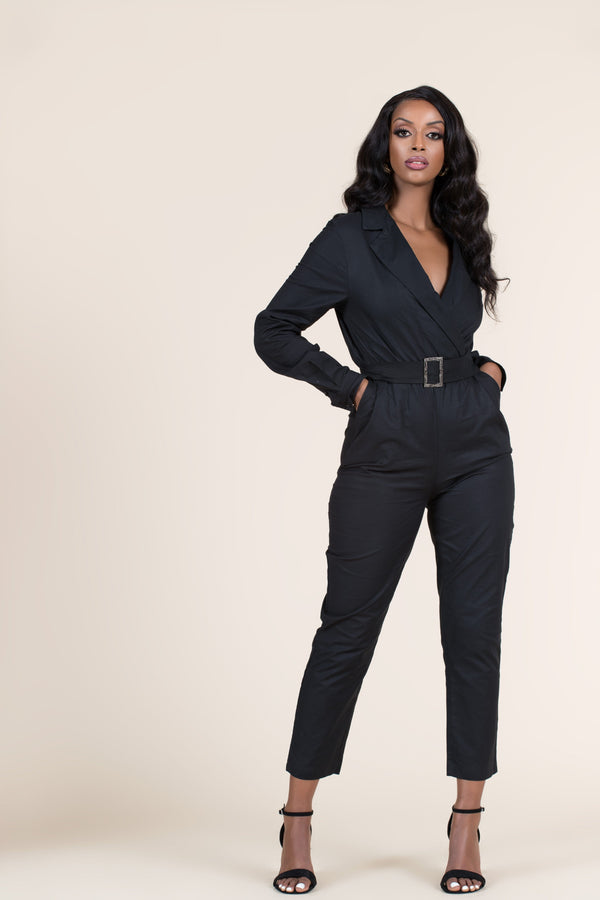 Grass-Fields Jumpsuit Black Mable Jumpsuit