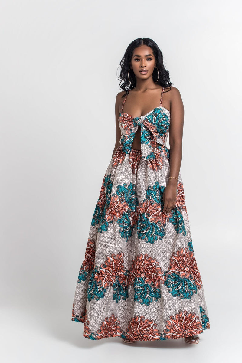 Grass-Fields Maxi Dresses African print Georgina Maxi Dress