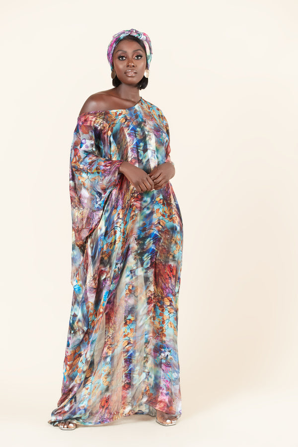 Grass-Fields Maxi Dresses Copy of Mosi Kaftan