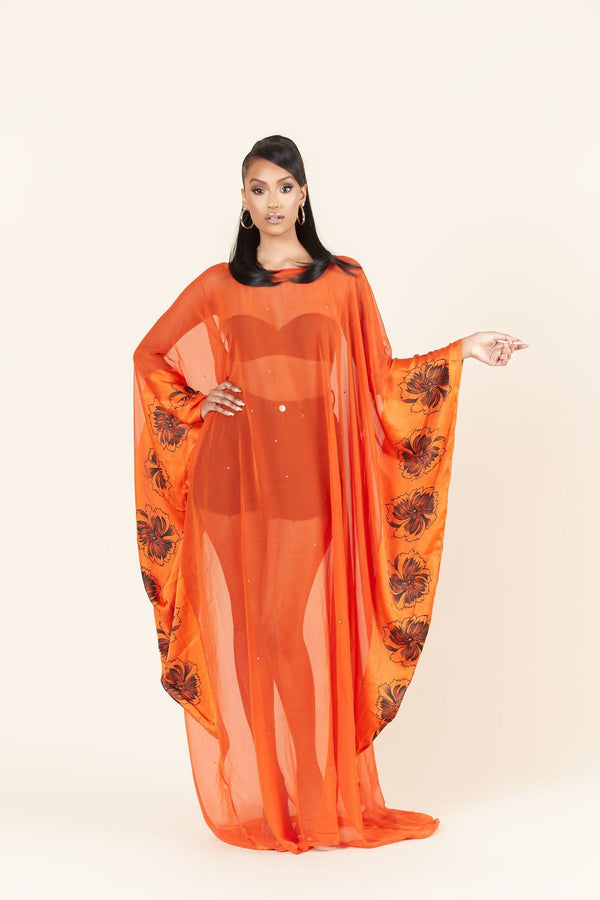 Grass-Fields Maxi Dresses Nyasha Kaftan