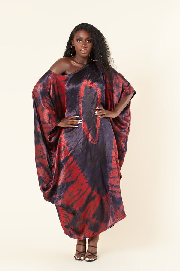 Grass-Fields Maxi Dresses Rania Kaftan