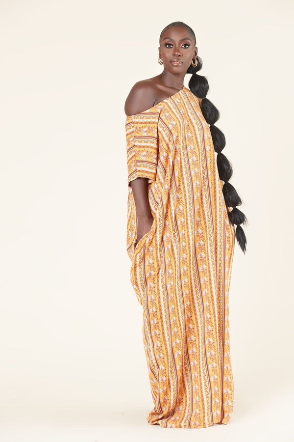 Grass-Fields Maxi Dresses Rolanda Kaftan