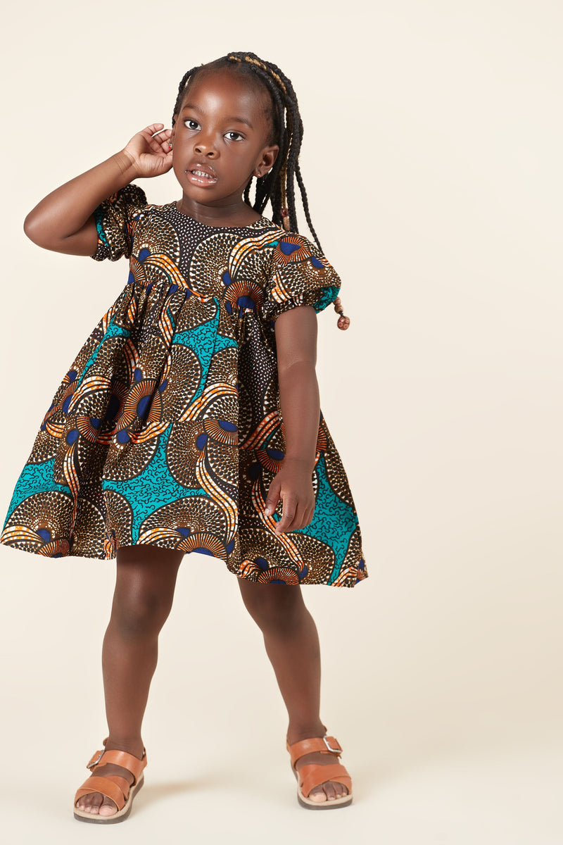 African Print Chigozie Kid's Dress