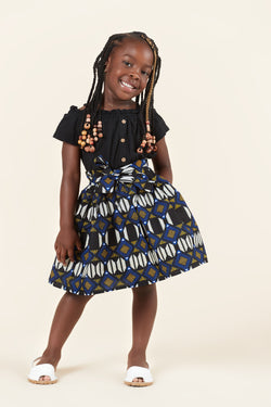 African Print Kelly Kid's Skirt