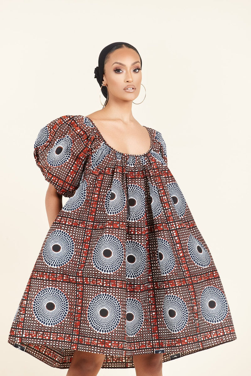 African Print Ogagba Dress