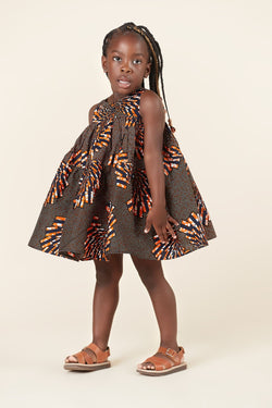 African Print Omotola Kid's Dress