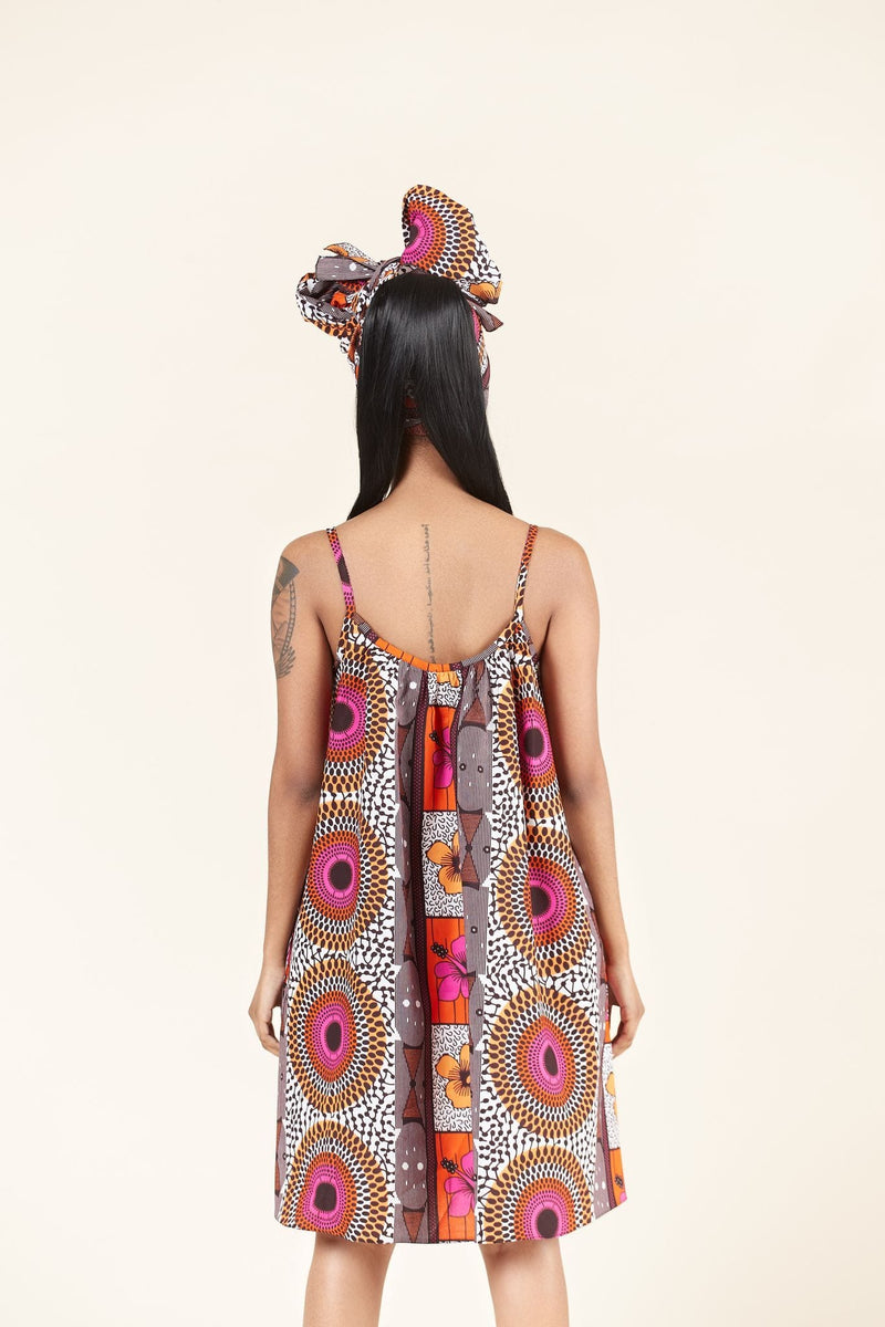 African Print Quiesha dress