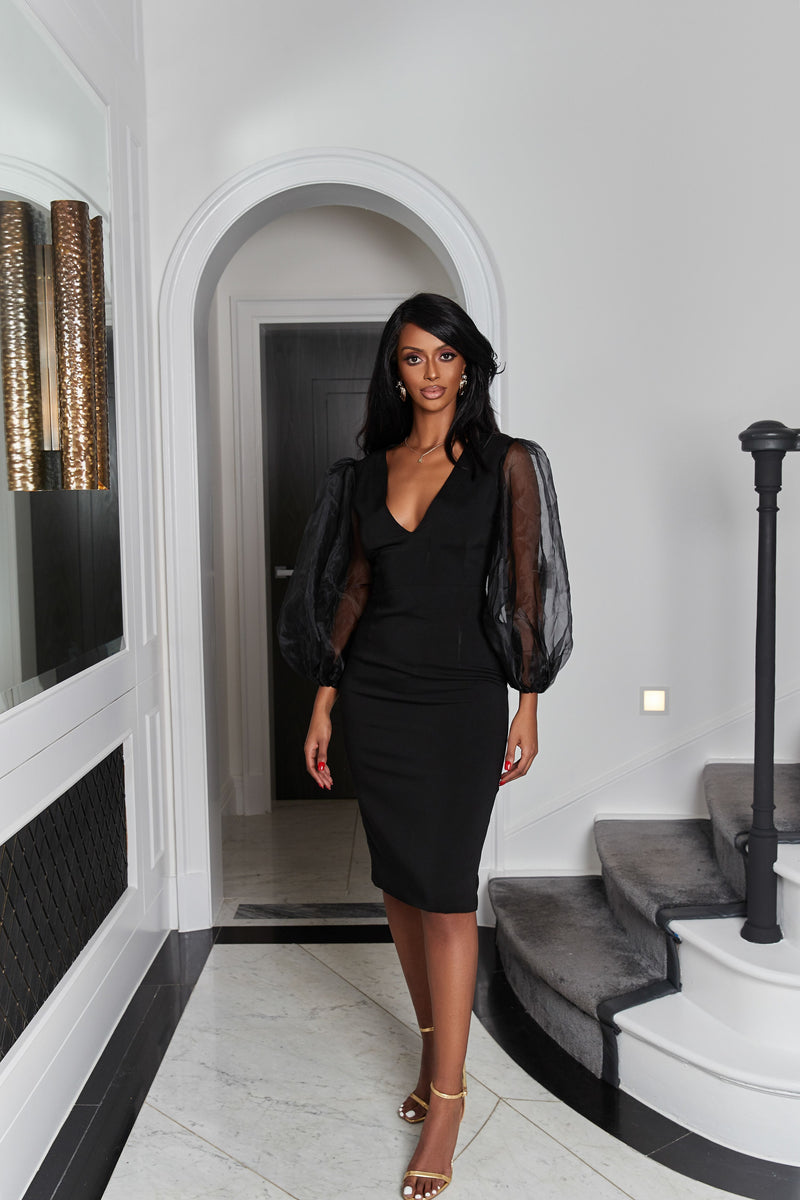 Black Amali Dress
