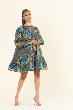 African Print Fadzai Dress