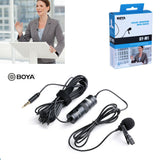 BOYA BY-M1 length 6m Omnidirectional Lavalier Microphone