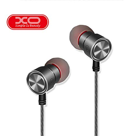 XO S9 Metal Shell HD Stereo Magnetic Line Control Earphone