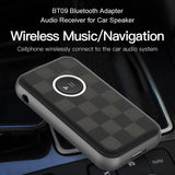 BT09B Wireless Bluetooth 5.0 Audio Music Receiver Support Hands-free Calling
