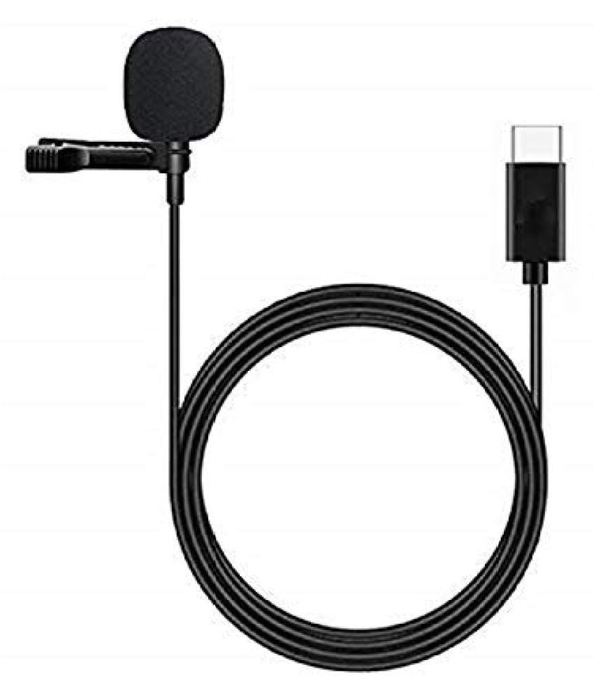 Lavalier Clip On Microphones Mic With Type C Plug