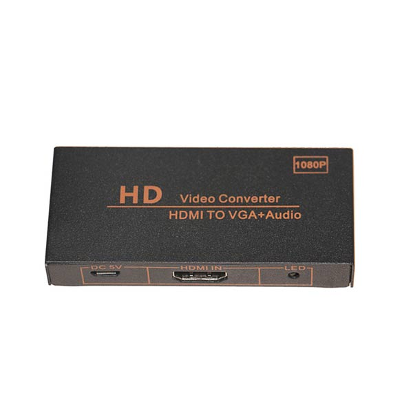 HDMI TO VGA+Audio Video Converter