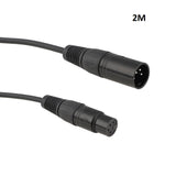 4Pin XLR Male To Female Cable
