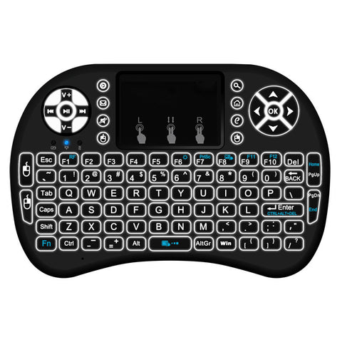 2.4G Mini Wireless Touchpad Keyboard Android TV Box and All PC