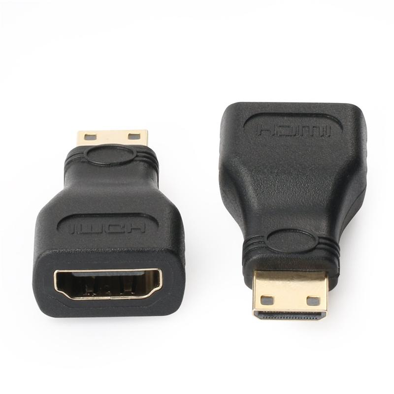 Mini HDMI Male To HDMI Female Adapter