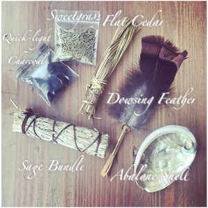 Smudging & Cleansing Yourself / Your Space