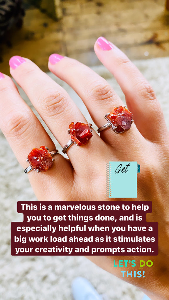 Vanadinite Jewellery 💥❤️💥❤️💥❤️