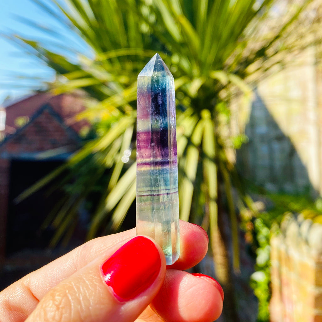 Rainbow Fluorite Little Energy Towers 💎🌈✨💞