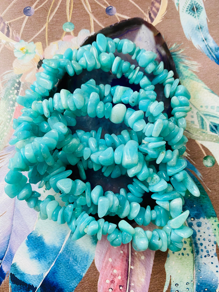 Amazonite Courage Crystal 💎 Grade A 🧚‍♀️