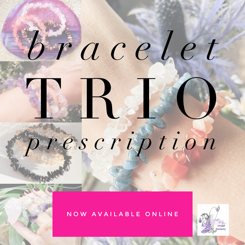 Crystal Bracelet Trio Prescription 👩🏽‍⚕️💞💘💖