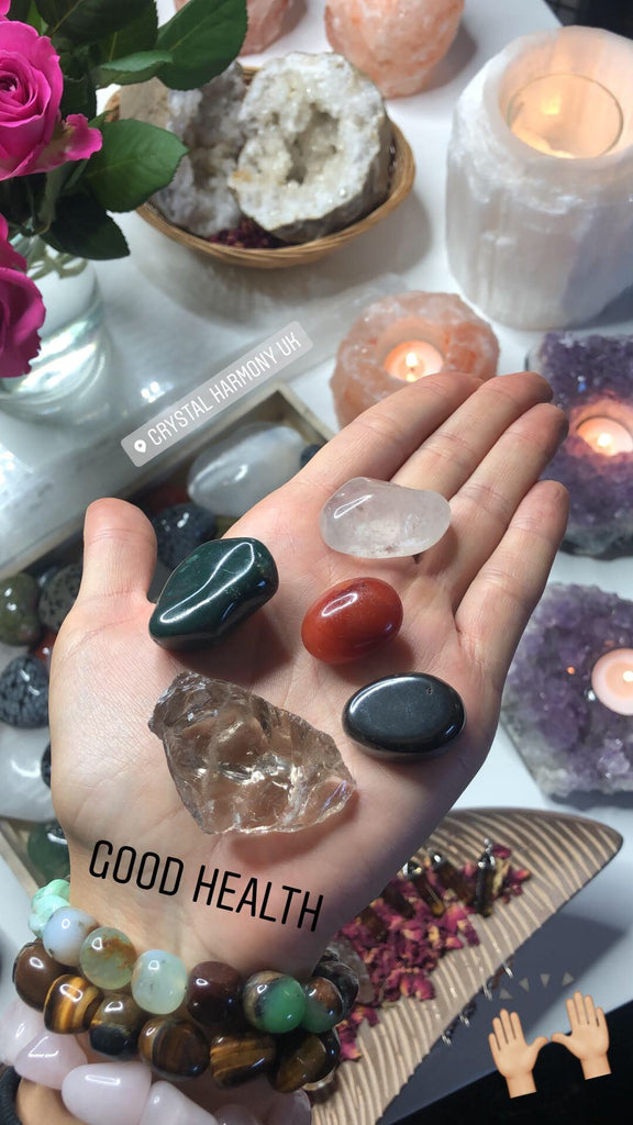 Good Health Healing Crystal Set 👩🏼‍