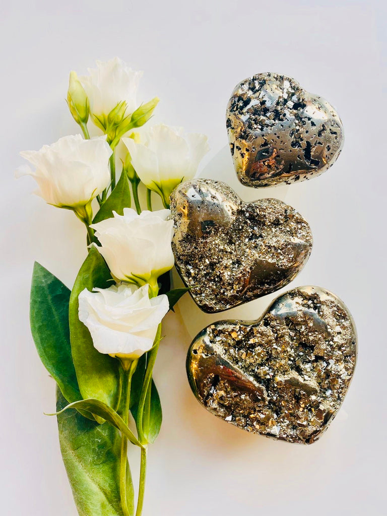 Special Mummy Pyrite Hearts ✨💛 Medium 💕