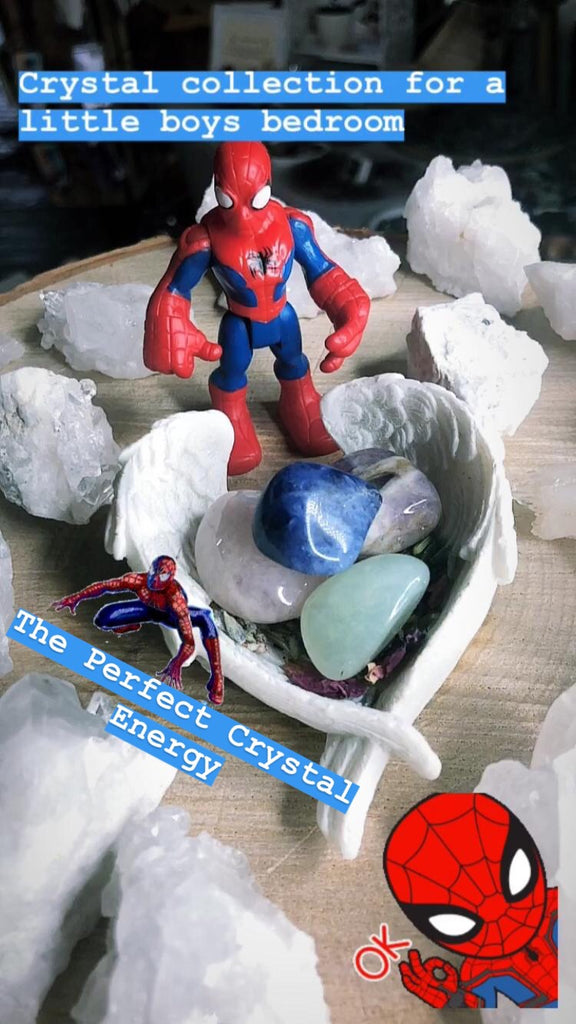 Crystals For A Little Boys Bedroom 💤🧒🏼🧢⚽️🏈🏏💎🔮