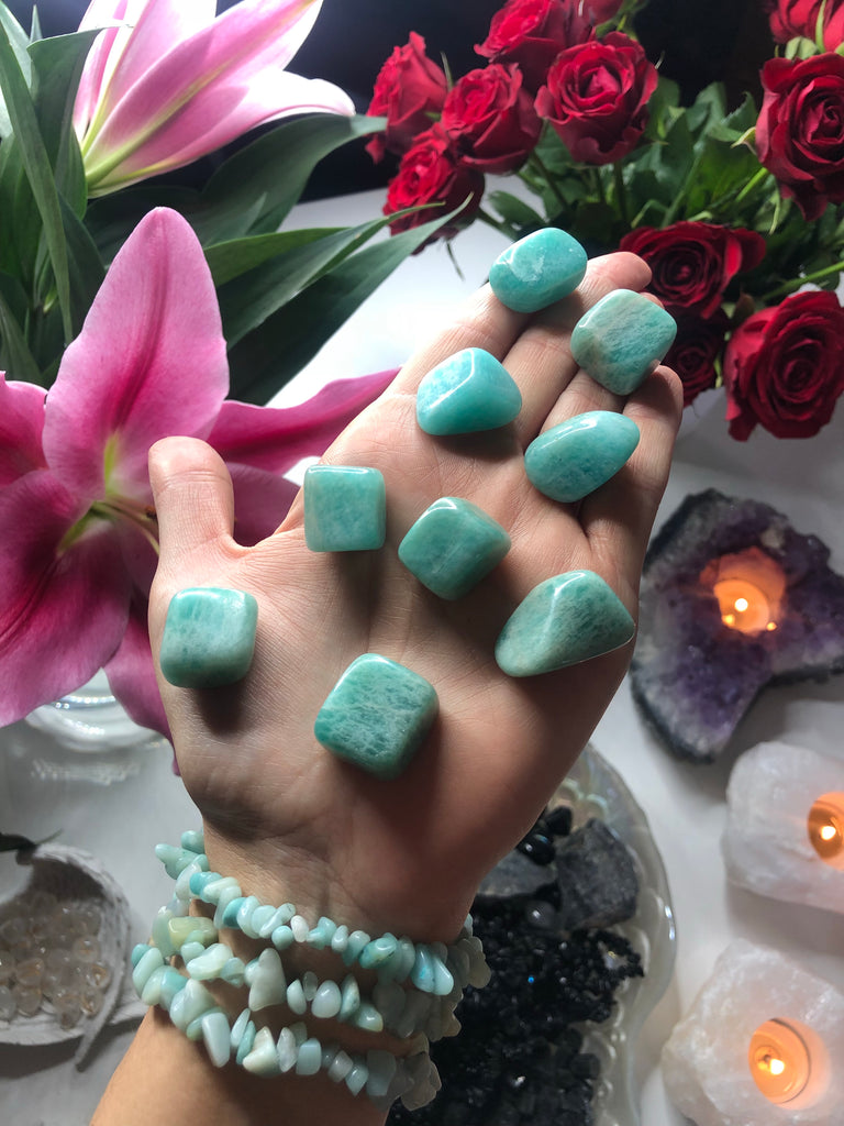 🎨 Amazonite Crystals  🙆🏽