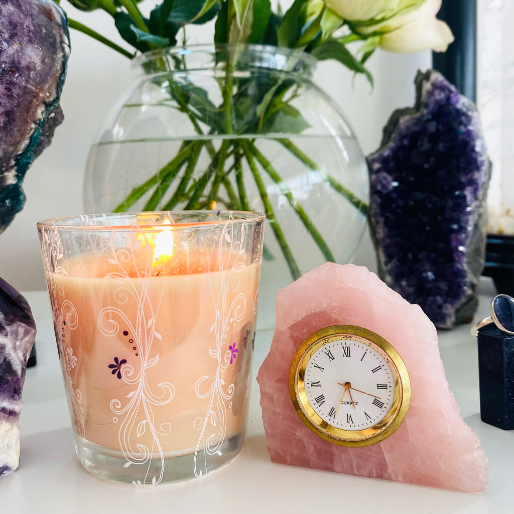 Rose Quartz Clock ⏰ It's TIME for Love! 💕⏰💕