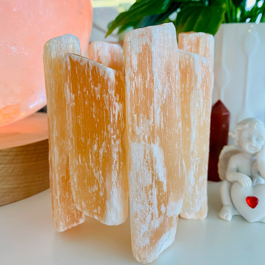 Red Selenite Stick T Lights 🕯❤️💎🔮💕