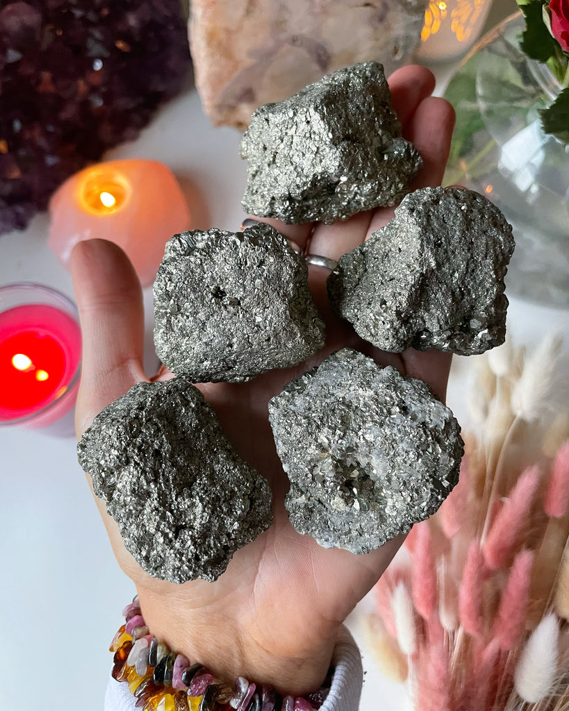 Large Pyrite Raw Crystal Boulders ✨