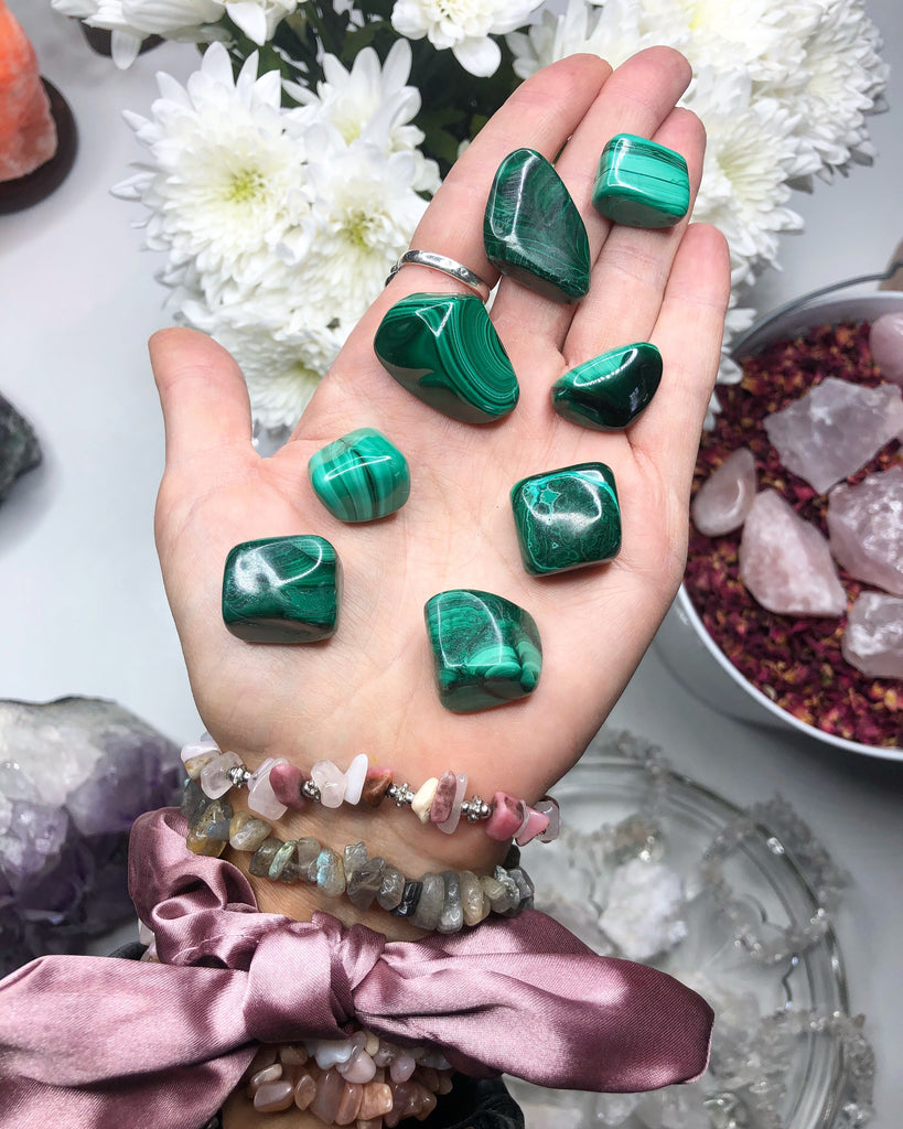 Malachite Crystals 💚 High Grade 💪🏼
