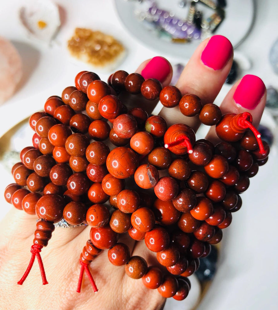 Red Jasper Powerbeads ❤️
