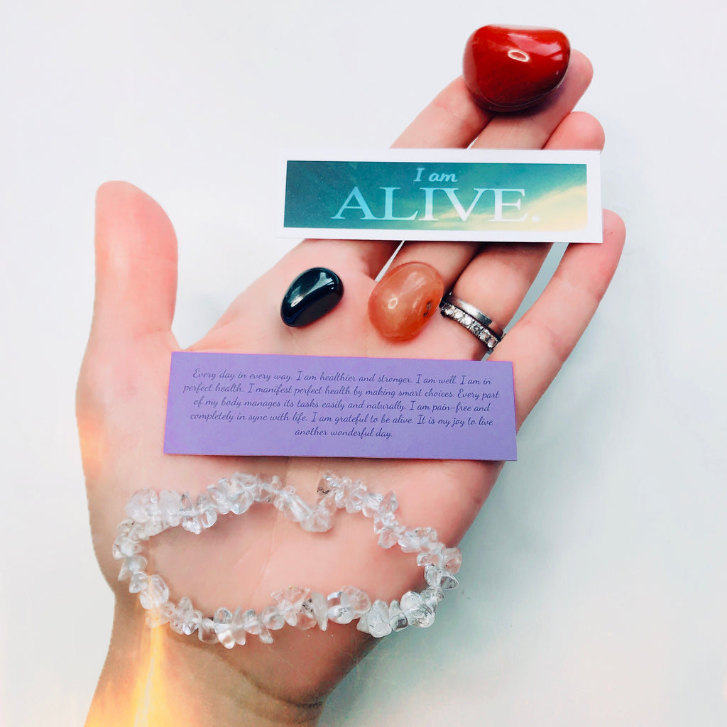 Crystal Affirmations Kit! UNLOCK YOUR GOAL!! 🙏🏼💎