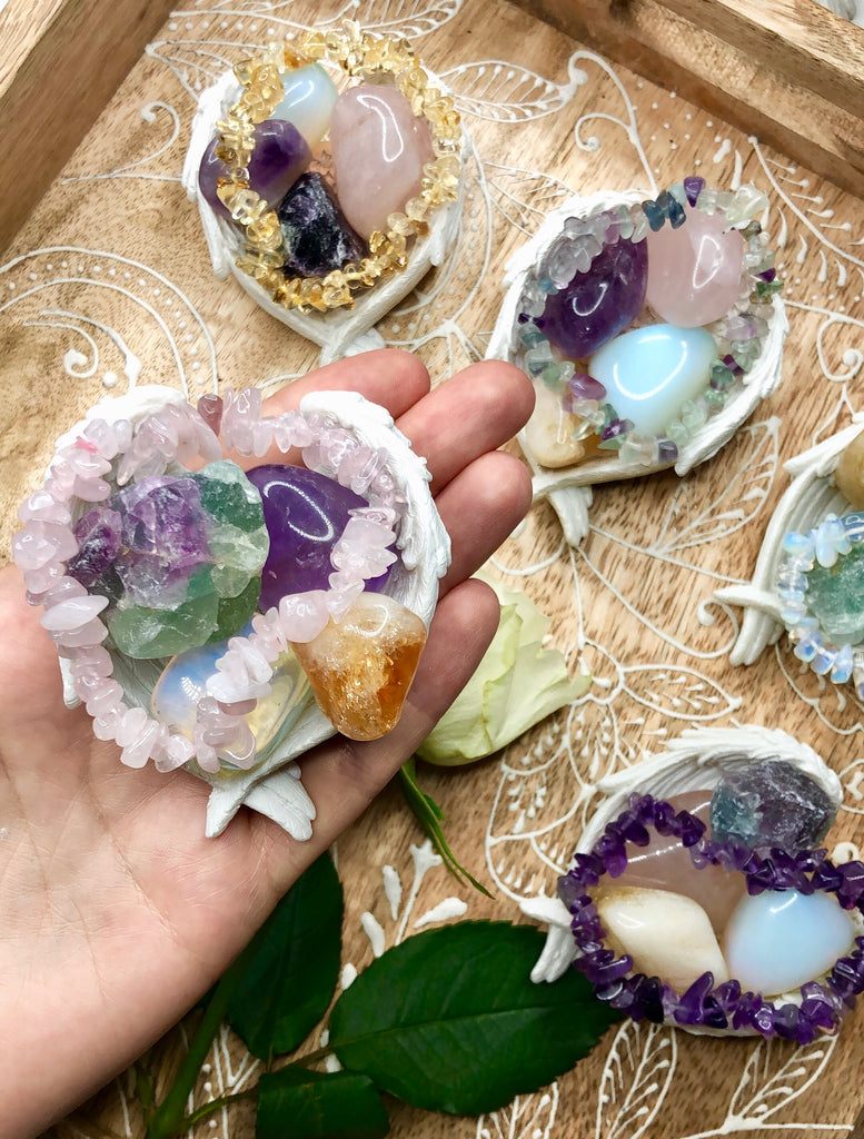 Crystals for Anxiety Relief Set 💕🙌🏼🔮🌹💜😘