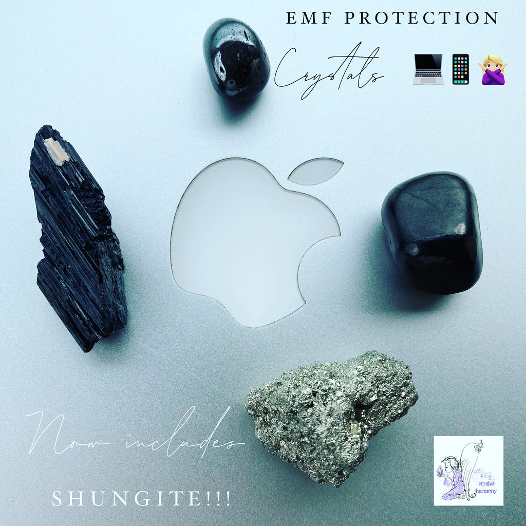 EMF Protection Crystals 💻📱🙅🏼‍♀️ Now includes Shungite!!!