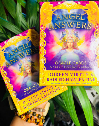 Angel Answers Oracle Cards ♥️👼🏼👼🏼