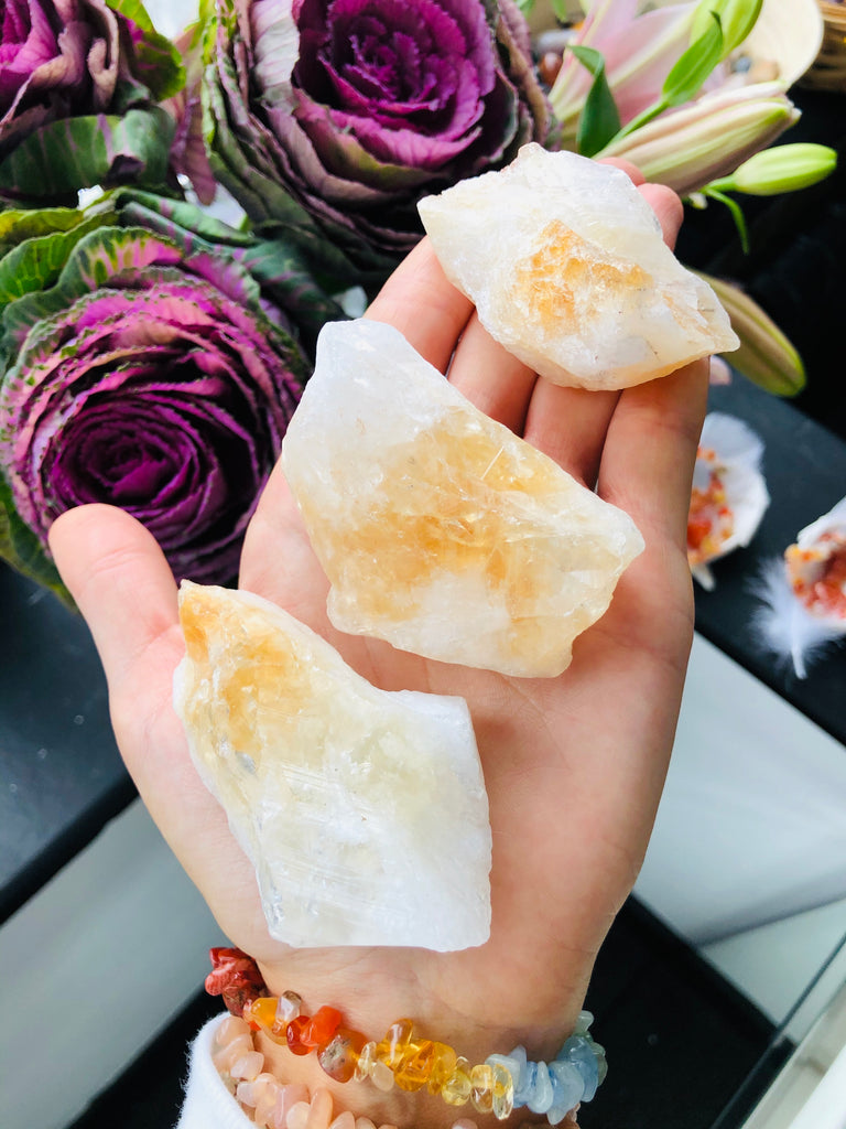 Natural Citrine Rough Points 💛💎