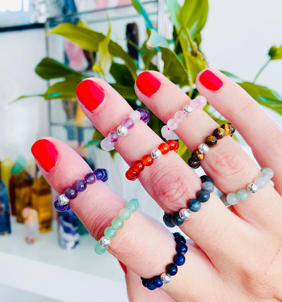 Bead Bracelet & Ring ' Our Exclusive Designs'💫🐅⚡️🦢💘💞👑🍀🥰