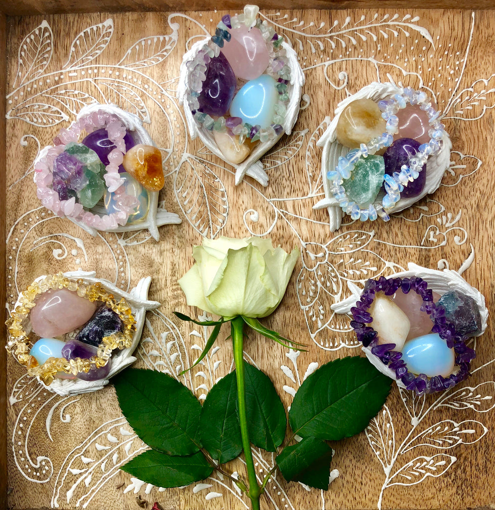 Anxiety Relief Crystal Collection 💕🙌🏼🔮🌹💜😘