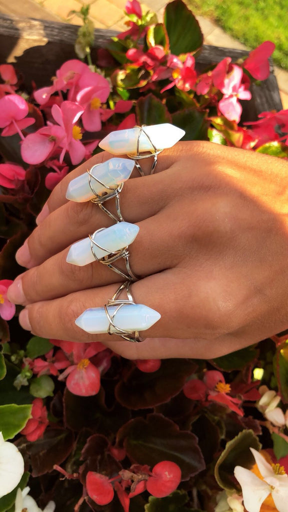 Opalite Double Pointed Ring 💍💎🔮