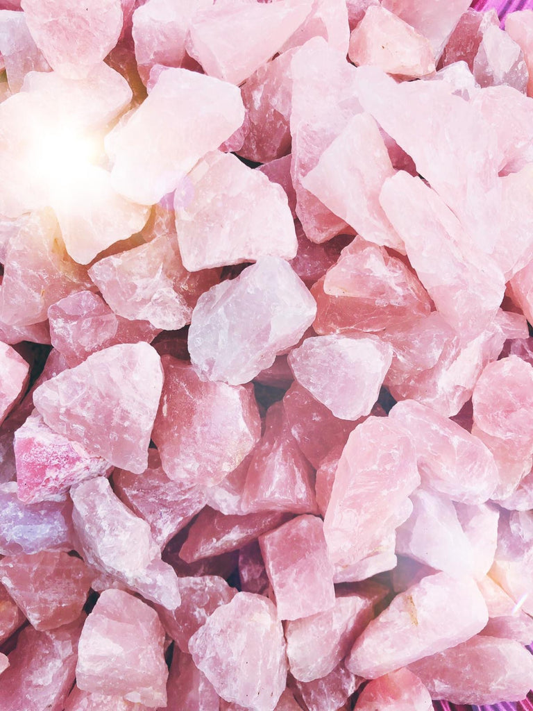 Rose Quartz Natural Rough Crystals 💞